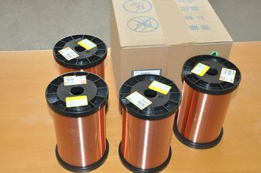 Chiny Polyurethane Super Fine Enameled Round Copper Wire Class 130 - 180 For Transformers fabryka