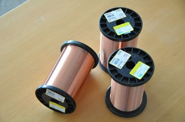 Chiny Polyester Enameled Round Copper Wire Class1 0.1 - 32.Mm With High Heat Resistance fabryka